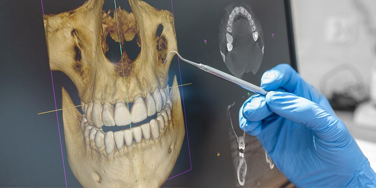 Dental technology decorative image